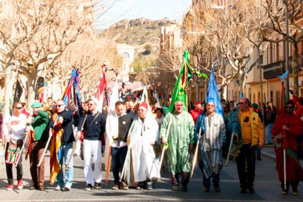 Mig Any de Moros i Cristians 2016 a Xixona.