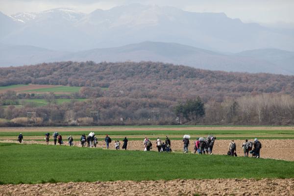 Refugiats Idomeni