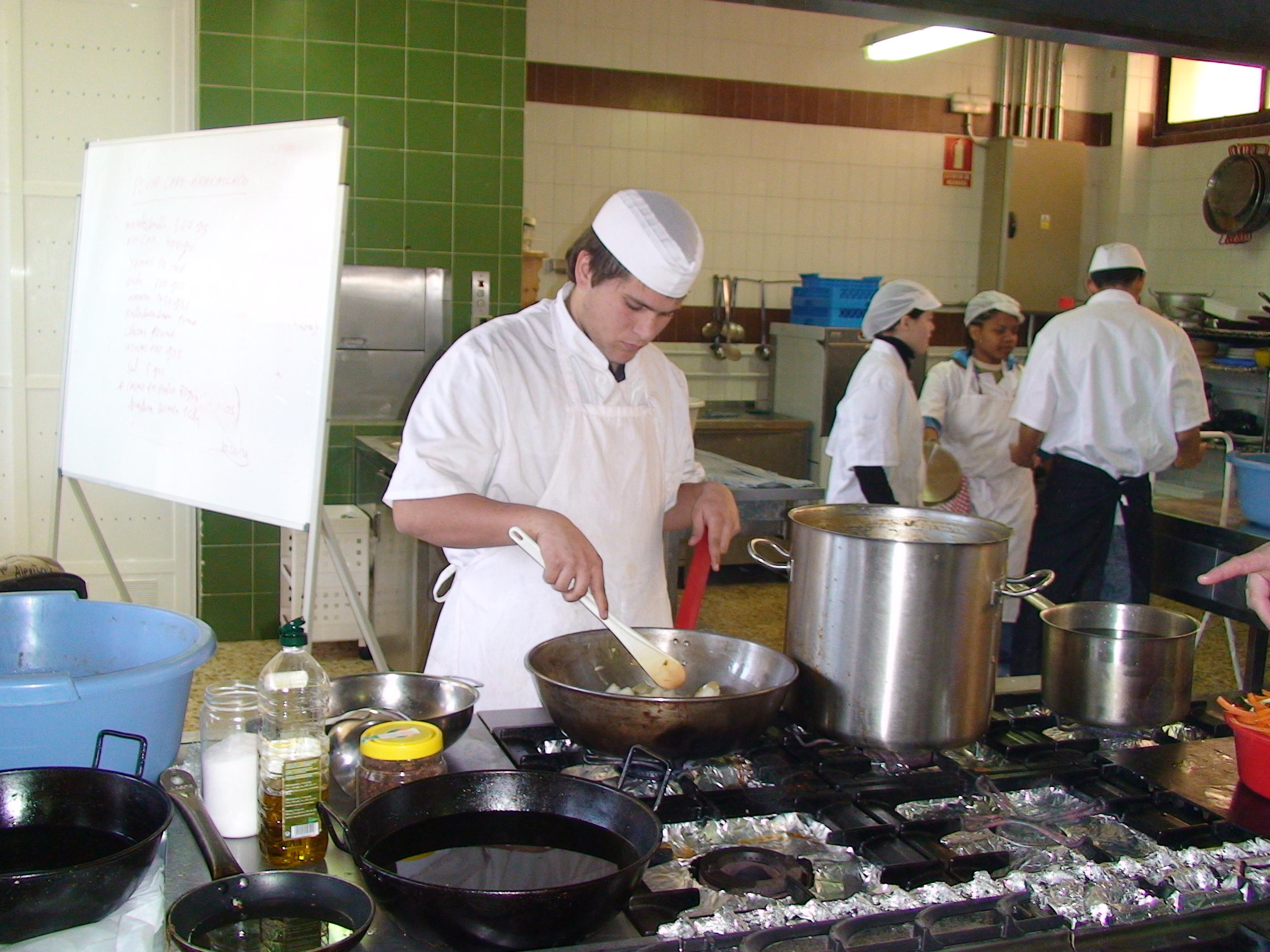Els professors t cnics d fp amb titulaci de cicle - Fp de cocina ...