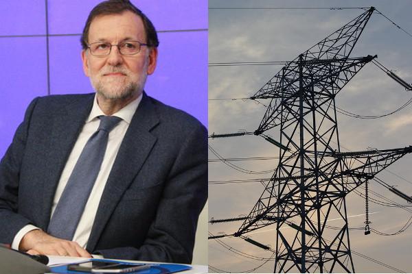 Rajoy i les elèctriques